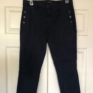Joes Cotton Zion Mid Navy Button Pants 28